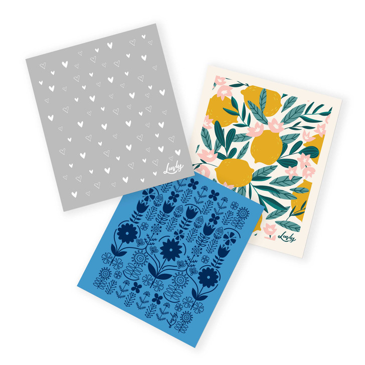 Assorted Swedish Dishcloth - 3 Pack