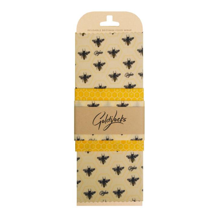 3 Pack Bees Wax Wrap - Honeybees