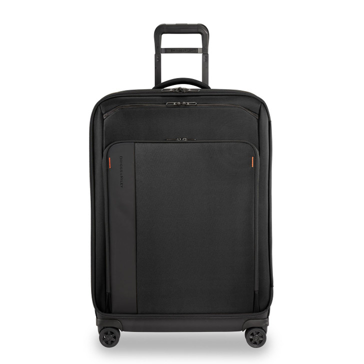 B&R 21 inch Carry-on Expandable Spinner - Black