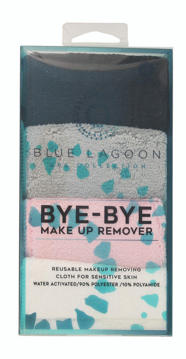 Erase your Face - Four pack make-up remover cloths