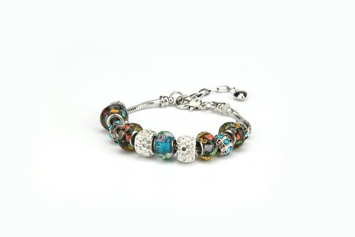 Khloelle Charm Bracelet - Multicolor