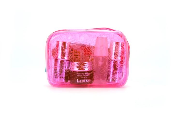 Flight 001 - X-Ray Quart Bag - Neon Pink