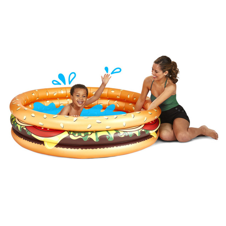 Big Mouth Inc - Hamburger Kiddie Pool