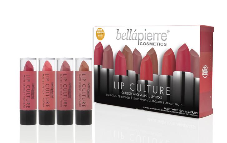 Bellapierre - Lip Culture 4 Pack - Matte