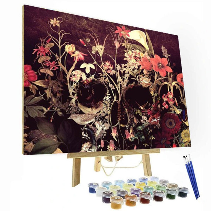 Forbidden Garden Paint By Number Painting Set - 40x50 cm