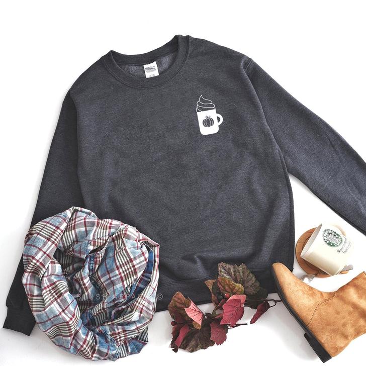Fall Coffee Sweatshirt Top
