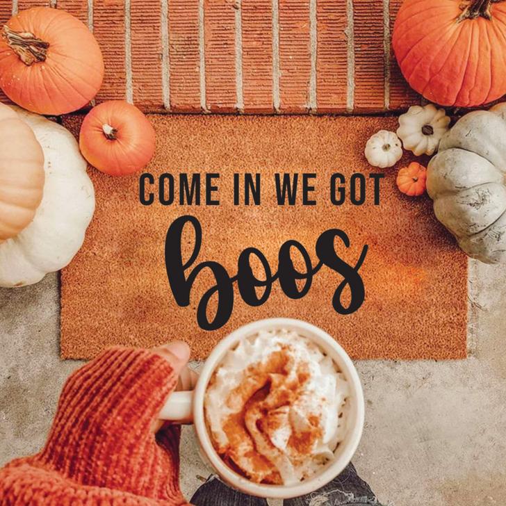 Come In We Got Boos Doormat