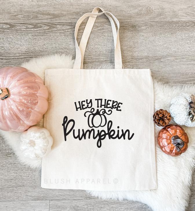 Hey There Pumpkin Tote Bag