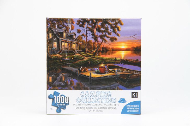 Camping Collection 1000 Piece Puzzle - High On The Hog