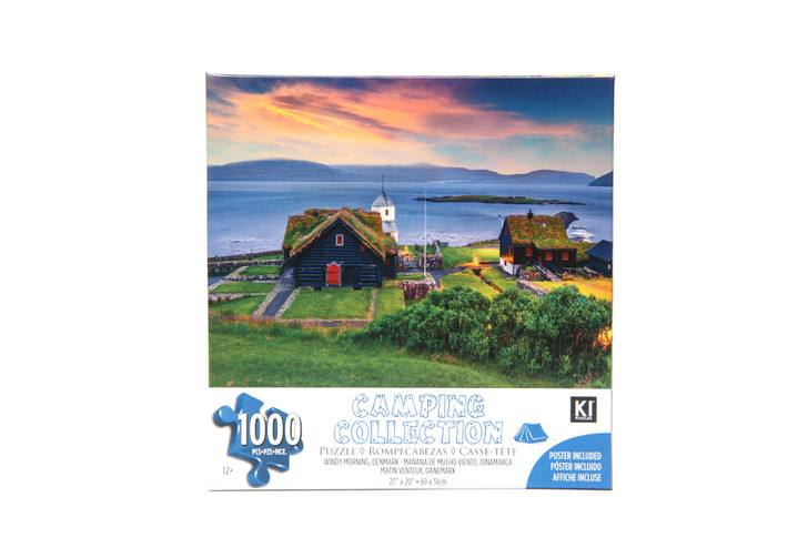 Camping Collection 1000 Piece Puzzle - Windy Morning, Denmark