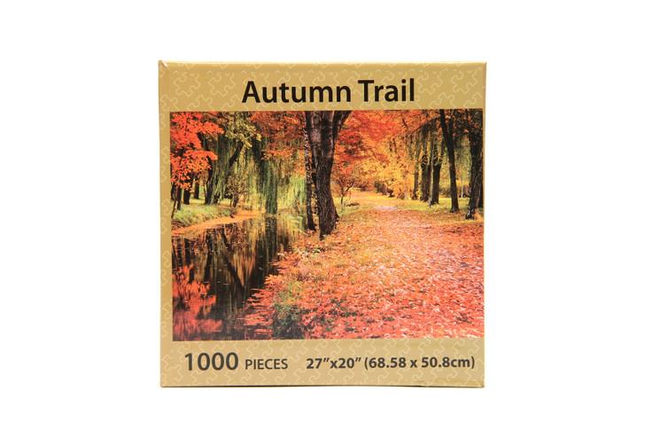 Autumn Trail 1000 Piece Puzzle