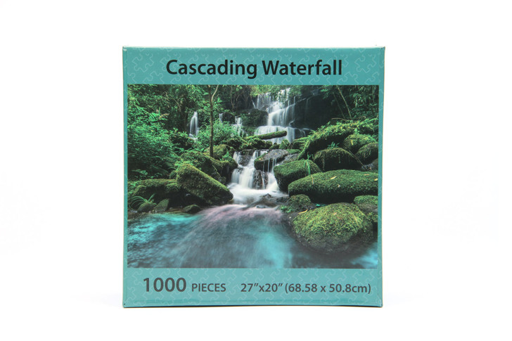 Cascading Waterfall 1000 Piece Puzzle
