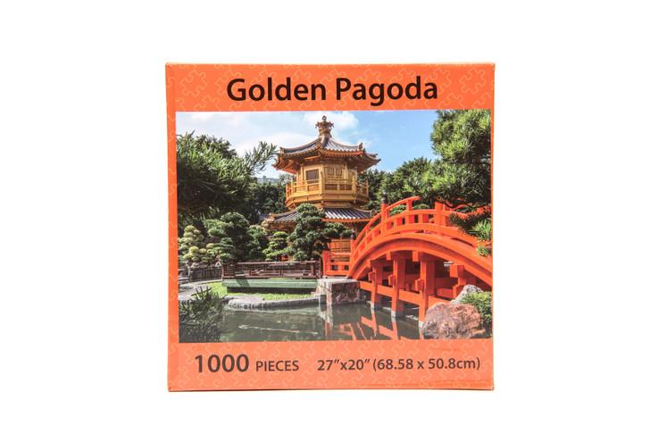 Golden Pagoda 1000 Piece Puzzle