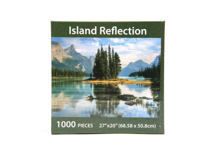Island Reflection 1000 Piece Puzzle