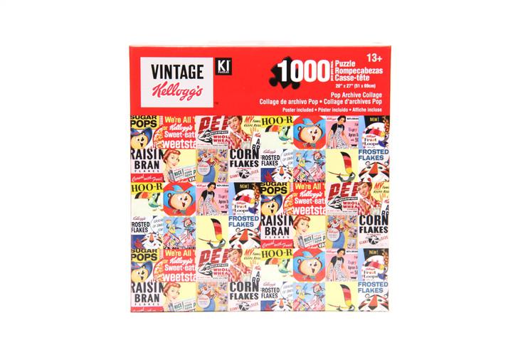 Vintage Kellogg's 1000 Piece Puzzle - Pop Archive Collage