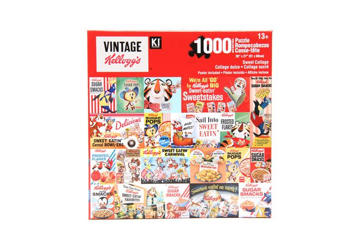 Vintage Kellogg's 1000 Piece Puzzle - Sweet Collage
