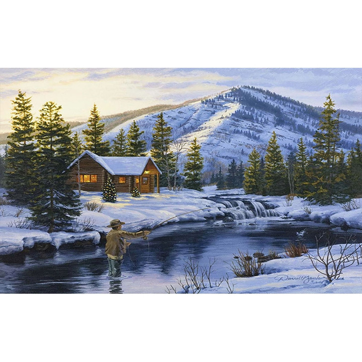 Paint By Diamond Set - Winter Catch