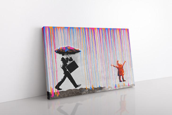 Under The Rain - Home Decor Art