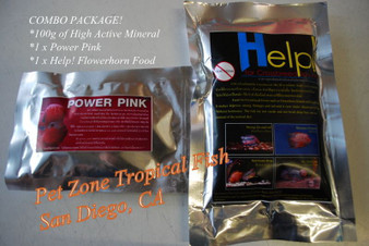 Aqua Products Flowerhorn Enhancement Combo Package!