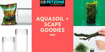 Aquasoil + Aquascape Goodies Restock