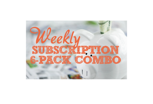 Weekly Subscription - 6 Pack Combo