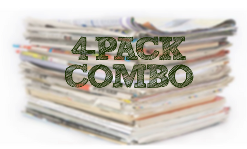 02/28/21 - (4) Pack Combo - SS, SAVE, PG (No Tide)