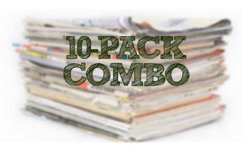 06/13/21 - (10) Pack Combo - SS, SAVE (WITH GAIN)