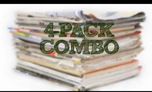 PRE ORDER 08/01/21 - (4) Pack Combo - SS, SV1, SV2, SV3, PG