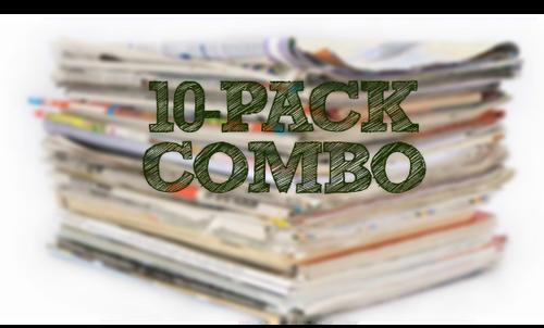 PRE ORDER 08/01/21 - (10) Pack Combo - SS, SV1, SV2, SV3, PG