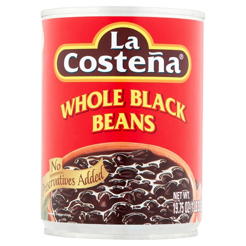 Mexican Whole Black Beans