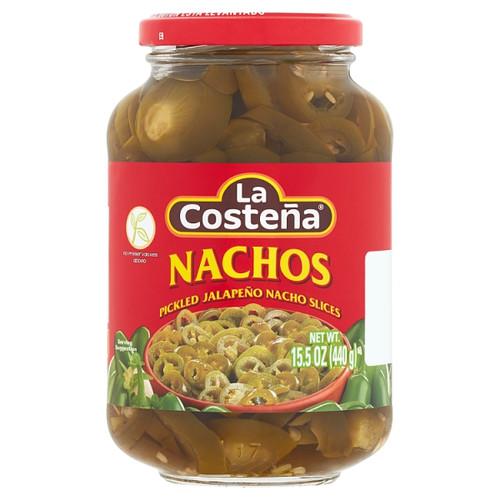 Nachos La Costena - Jalapenos in Slices