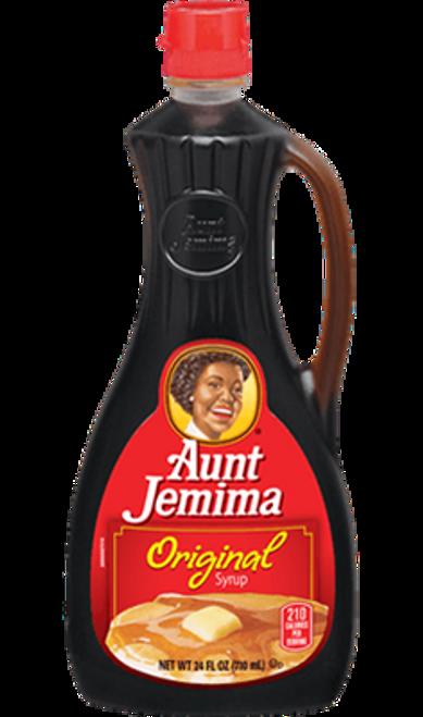 Hot Cakes / Pan cake Syrup (Large)  Aunt Jemina