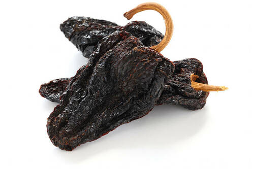 Ancho Chillies Dried 100 Grams
