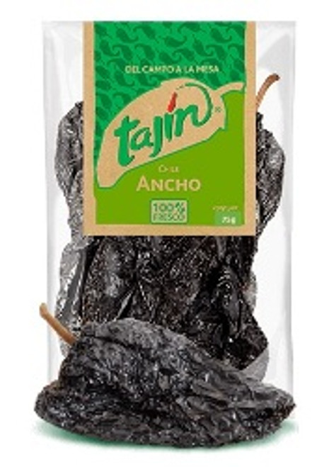Ancho Chillies 75 Grams