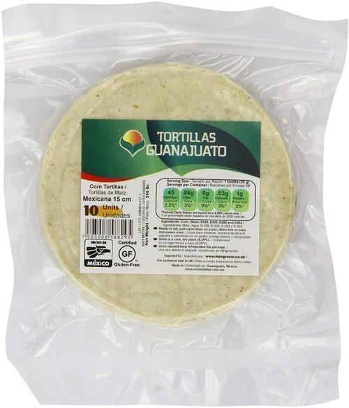 Tortillas Guanajuato 10  pieces