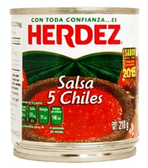 Herdez Salsa 5 Chiles