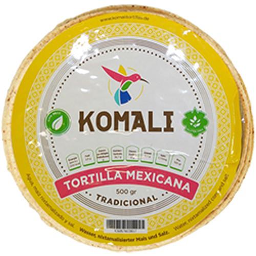 Tortilla de Maiz Komali