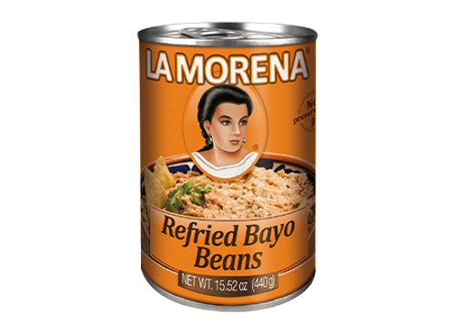 Refried Bayo bean