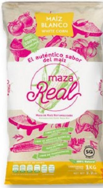 Maza Real white corn flour