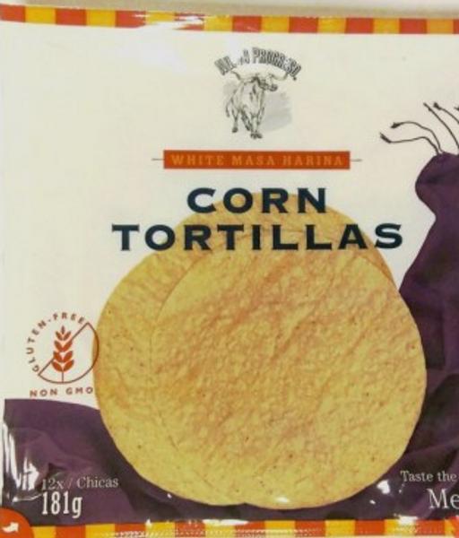 Corn Tortillas 15cm
