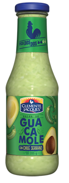 Guacamole Serrano sauce