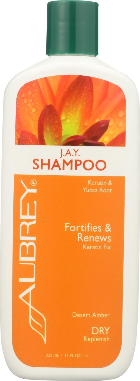 J.A.Y. Shampoo Keratin & Yucca Root 325mL 11 Fl oz
