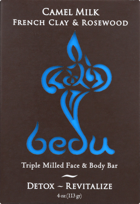 Camel Milk Face & Body Bar French Clay & Rosewood