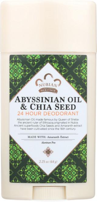 Deodorant Abyssinian Oil & Chia Seed