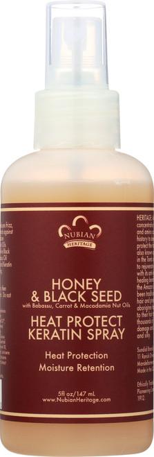 Heat Protect Keratin Spray Honey & Black Seed