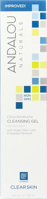 Cleansing Gel Citrus Kombucha