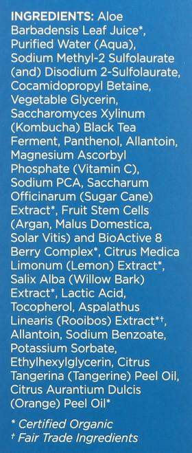 Cleansing Gel Citrus Kombucha Clear Skin 6 Fluid Ounce 178 Ml