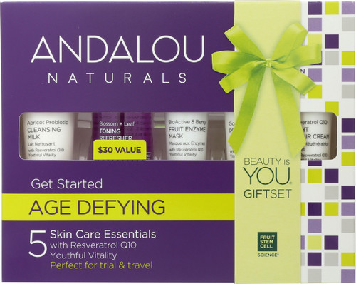 5 Skin Care Essentials Get Started Kit Age Defying
