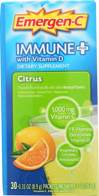 Emergen-C® Immune Plus® With Vitamin D Citrus