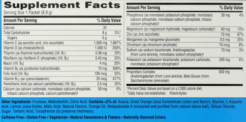 Emergen-C® Immune Plus® With Vitamin D Citrus Dietary Supplement 30 Packets 9.3oz